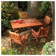 Comedor New York Madera 5 piezas-Sodimac.com