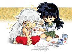 Inuyasha And Kagome Have A Baby | BlueFlameAlchemist - Bloody_and_Cute.jpg