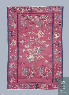 Early example of Pirot kilim. Not even one motif is cataloged! Enjoy!