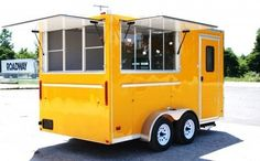 2013 7 x 14 Concession Vending Food Truck Trailer Sinks Electrical Interior | eBay