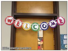 FREE Welcome banner for the classroom!