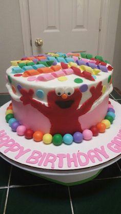 Elmo Cake - Amy's Crazy Cakes