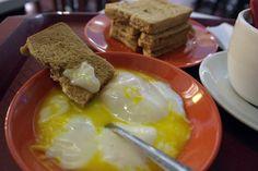세트메뉴 A   카야쨈토스트 반숙달걀 2  커피 OR 티