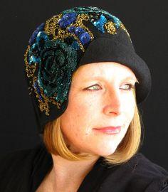 Trish Hirschkorn - Winter in Paris #millinery #judithm #hats