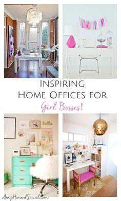inspiring home offices for girl bosses boss workspace home office