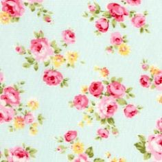 Floral Collection Princess Rose Blue