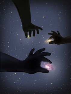 With all written in the stars, by hands of creation from afar.  (Time's Disease, Laurent In Chains)