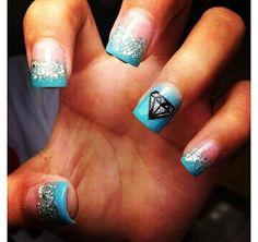 Diamond & Co. Nails For all them diamonders!