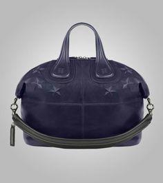 Givenchy Blue and Black Nightingale Medium Bag Givenchy Blue 73898e732213c