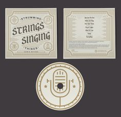 Strumming Strings Singing Things by Adam Grason , via Behance