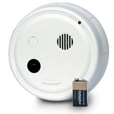 Gentex Hardwired Interconnected Photoelectric Smoke Alarm with Test Switch and Temporal 3 Sounder-9123 - The Home Depot