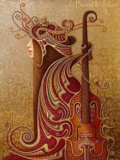 boris indrikov | Arte Surreal de Boris Indrikov