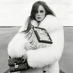 """@wearesodroee on Instagram: """"Rianne van Rompaey by Bruce Weber, 2015. #adcampaign #advertising #campaign #louisvuitton #lv #bruceweber #riannevanrompaey #marieameliesauve #fashion #beauty #face #hair #makeup #beautymakeup #face #models #fashionphotography #photography #fall #winter #dnamodels #vivamodels @louisvuitton @riannevanrompaey @bruce_weber @marieameliesauve @vivamodel @dnamodels"""""""