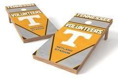 Tennessee Volunteers Single Cornhole Board - Burlap