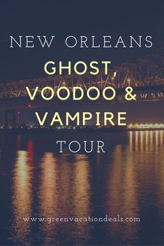 Looking for some fun things to do in New Orleans? Take this Ghost, Voodoo & Vampire Tour... if you dare!  This walking tour in the French Quarter is the perfect addition to your New Orleans travel itinerary. #NOLA #NewOrleans #visitneworleans