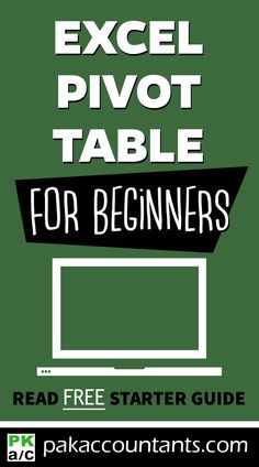 Pivot Tables for Absolute Beginners Want to learn What is Excel and how to work with it? This jump start guide is perfect help. Excel tricks, dashboard formula core book and cheat sheets. Excel For Beginners, Reading For Beginners, Computer Help, Computer Tips, Computer Technology, Microsoft Excel Formulas, Computer Shortcut Keys, Excel Hacks, Pivot Table