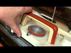 Carrello Lc2 inserimento camme magiche Knitting Machine, Tejidos, Art, Knitting Machine Patterns