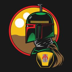 BOBA FETT DESERT by - Get Free Worldwide Shipping! This neat design is available on comfy T-shirt (including oversized shirts up to ladies fit and kids shirts), sweatshirts, hoodies, phone cases, and more. Free worldwide shipping available. Boba Fett Tattoo, Boba Fett Art, Star Wars Boba Fett, Boba Fett Helmet, Boba Fett Wallpaper, Star Wars Wallpaper, Star Wars Pictures, Star Wars Images, Star Wars Fan Art