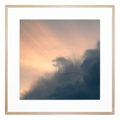 Autumnal Sky | Canvas or Framed Print - Channel 9