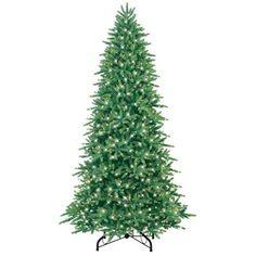149 50 Martha Stewart Living 9 Ft Pre Lit Downswept Wimberly  - Artificial Christmas Trees Home Depot