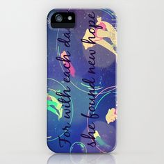 New Hope iPhone & iPod Case by Lynsie Petig - $35.00  #disney #cinderella #happy #colorful #iphone #case #phone #love #happy