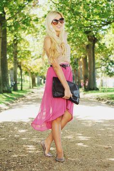 pink breeze- cute Summer style
