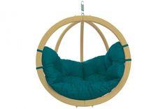 Hängesessel Globo Chair aus Holz von Amazonas inkl. Kissen in versch. Farben…
