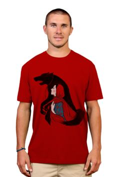Taming of the wolf T-shirt by xiaobaosg from Design By Humans. Taming of the wolf T-shirt by xiaobaosg from Design By Humans.  for