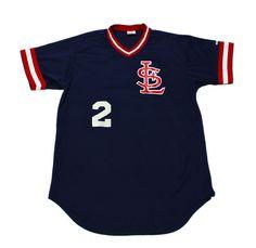 Vintage 80s Wilson St. Louis Cardinals Baseball Jersey #2 Mens Size Medium $40.00