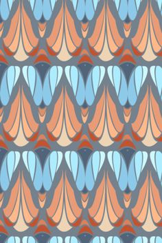 Home Decor Patterns by Emily Julstrom, via Behance