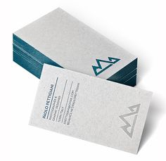20 Minimalistic & Professional Business Card Designs
