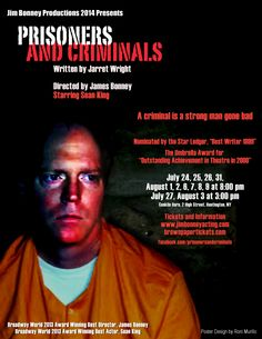 """Prisoners and Criminals"", the hit one-man show by Jarret Wright"