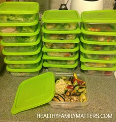 Meal Prepping for Healthy Weight Loss and a Healthy Family