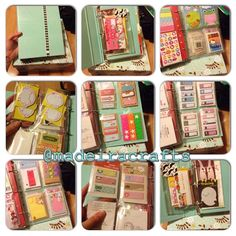 My sticker/sticky note binder #marthastewart #stickynotes #stickers #filofax #storage #instacollage | Flickr - Photo Sharing!