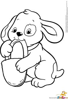 puppy coloring pages free large images