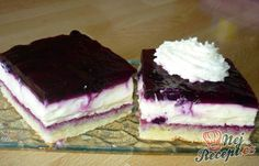 Blueberry pie with delicious cream Top-Rezepte. Easy Vanilla Cake Recipe, Easy Cake Recipes, Sweet Recipes, Salty Snacks, Hungarian Recipes, Cake Toppings, Food Cakes, Coffee Cake, No Bake Cake