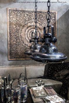 Balinese Wall decor, Carved Wood Wall Art Panel, Wall Hanging, Teak Paneling, Wall sculpture. Oriental design.  (5'x5' ft)