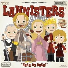 The Lannisters // Game Of Thrones