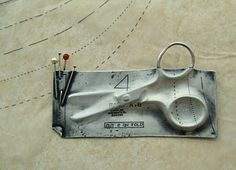 Dress making brooch by Iona McCuaig.  @Clare Finin check it out.