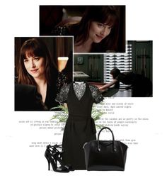 """""""Anastasia Steele - Fifty Shades Darker"""" by sweet-smile90 ❤ liked on Polyvore featuring Givenchy"""