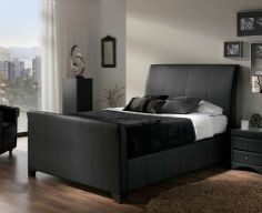 Whether its summer when you want to stay cool or its winter when you want to stay warm, this Allendale bonded Madras ottoman with finish is a perfect setup. Get it online from in Ottoman Storage Bed, Ottoman Bed, Bed Storage, Storage Spaces, Leather Bed, Leather Ottoman, Bonded Leather, Upholstered Bed Frame, Upholstered Ottoman