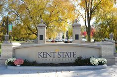 Kent State University in northeast Ohio. This is where I went for my undergrad...