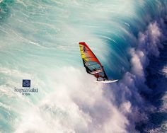 I love windsurfing, not that talented though :I