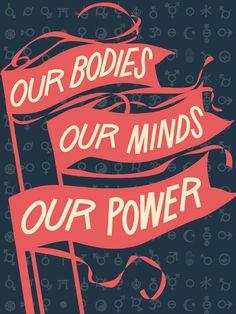 "WOMEN'S MARCH ON WASHINGTON – Jennifer Maravillas, ""Our Bodies, Our Minds"""