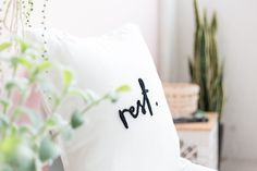 Get the tutorial for this needle felted pillow on the blog