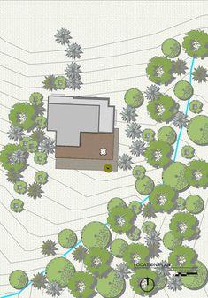 """House """"Lago en el cielo"""",Site Plan"""