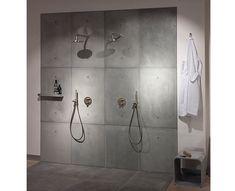 Beton panelen voor douches BETONLOODS.NL