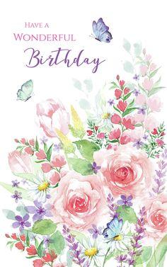 Beautiful Birthday Wishes, Birthday Wishes Flowers, Birthday Wishes Messages, Birthday Wishes And Images, Happy Birthday Pictures, Birthday Blessings, Happy Birthday Greetings Friends, Happy Birthday Flower, Happy Birthday Quotes