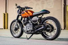 12 Best XS400 images in 2018   Street tracker, Motorcycles