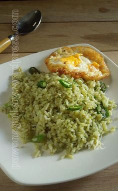 New Ideas Breakfast Hash Healthy Food Recipes Tasty Rice Recipes, Rice Recipes For Dinner, Side Dish Recipes, Asian Recipes, Cooking Recipes, Healthy Recipes, Healthy Food, Asian Foods, Indonesian Food